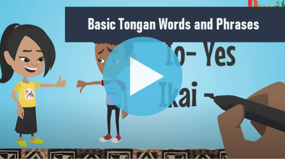Tongan Language Video